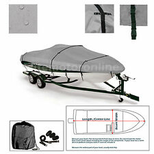 Triton 16 Storm Trailerable Fishing Bass Boat Cover grey