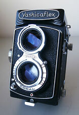 Vintage Yashica YashicaFlex TLR Camera Model C with Yashikor 80mm f3.5 Lens