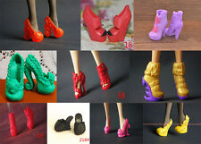 Kids Gift 10 Pairs High Heels Boots Shoes For Monster High Doll Toys Accessories