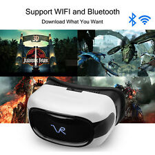 3D All-in-one Wifi Bluetooth BT Android Video Virtual Reality VR Glasses Headset