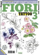 Flower Tattoo 3 Design Book