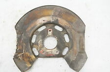 Porsche 911  FRONT BRAKE ROTOR  BACKING PLATE 1976 USED NICE