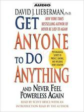NEW 2 audio Get Anyone to do Anything David Lieberman