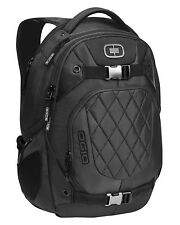 "Ogio NEW Squadron 15"" Black School Bag Sports Skate Travel Pack Laptop Backpack"