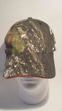 Deer Hunting Baseball Cap Green Orange Adjustable
