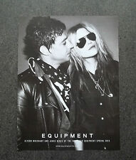 H673 - Advertising Pubblicità -2013- EQUIPMENT , ALISON MOSSHART AND JAMIE HINCE