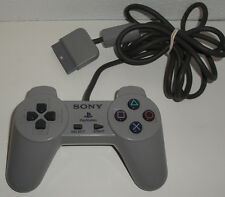 SONY PS1 CONTROLLER SCPH-1080 Original Playstation Gray Wired Used Works PSX