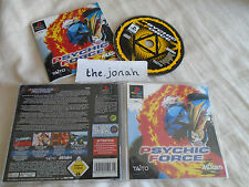 Psychic Force PS1 (COMPLETE) fighting Sony PlayStation black label