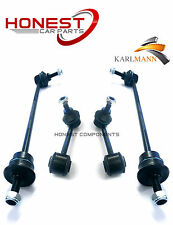 For ROVER 75, MG ZT, SALOON, ESTATE FRONT & REAR STABILZER LINK BARS X4 Karlmann
