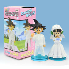 DRAGON BALL | Goku & Chichi Set Boda Wedding Figure 8cm PVC