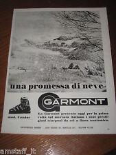 AB7=1968=GARMONT SCARPONI SCI NEVE=PUBBLICITA'=ADVERTISING=WERBUNG=