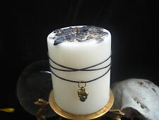 REMOVAL SPELL CANDLE for *Curse *Hex *Negative Energy - FREE Gifts- Skull Charm