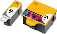 2 DRUCKERPATRONE für KODAK 10XL EasyShare 5100 5300 5500 6150 ESP Office 6150