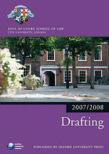 Drafting 2007-2008: 2007 Edition |a 2007 ed. (Bar Manuals) The City Law School E