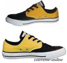 Boys Womens CONVERSE All Star BLACK YELLOW CVO SPLIT OX Trainers Shoes UK SIZE 5