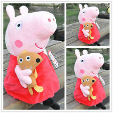 UK Peppa Pig Stuffed Figures Toy Plush Doll 19CM/7.5inch Kids Lovely Xmas Gift