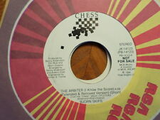 "PROMO 7"" CHESS 45 RECORD/BJORN SKIFS/THE ARBITER (I KNOW THE SCORE)/NR MINT 1984"