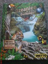 Netto Ozeanien 3 Ab in den Dschungel  Sammelalbum komplett mit allen 108 Karten