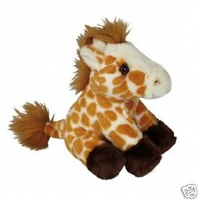 Ravensden Suma Giraffe Cute Plush Soft Toy Brown Beige 15cm FRS007G