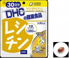 DHC Japan lecithin 30 days 120 caplets supplement diet support free shipping