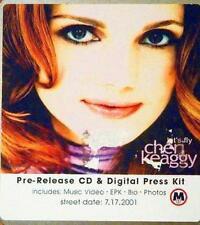 CHERI KEAGGY  -  LET'S FLY  -  CD, 2001 - PRE-RELEASE ADVANCED COPY