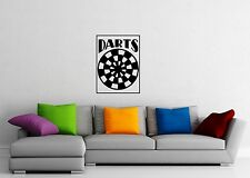 Wall Sticker Vinyl Decal Darts Target Sports Cool Design for Living Room ig1217