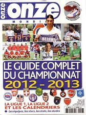 2012 2013 France Onze Mondial Guide - French Football Season Preview Magazine