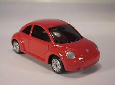 Maisto 3 inch Volkswagen New Beetle Collection VW Beetle rot OVP #9392