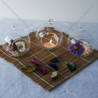 hanging crystal glass candle holder romantic relax wedding dinner decoration