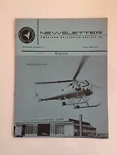 AMERICAN HELICOPTER SOCIETY BRANTLY B-2 REPRINT NEWSLETTER
