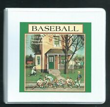 BASEBALL  9 CD Set #2  Otr Radio Shows Babe Ruth Lux  Richard Diamond Bob Hope