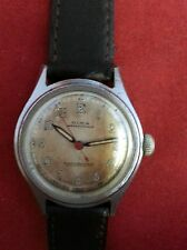 VINTAGE OLMA WRIST WATCH SWISS MADE 15 JEWELS ANTIMAGNETIC RUNS & STOPS
