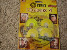 TURKEY CALLS $$H.S. LEGENDS 4 TURKEY CALLS PLUS HUNTING DVD 4 SALE PRICE SAVE$$$