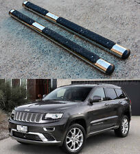 "Jeep Grand Cherokee 2011-2016 OEM Style 4"" Stainless Steel Side Steps Boards"