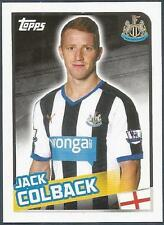 TOPPS 2016 PREMIER LEAGUE #288-NEWCASTLE UNITED-JACK COLBACK