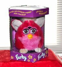 FURBY 1999 RED & PINK VALENTINE? WORKING INTERACTIVE TOY TIGER ELECTRONICS.