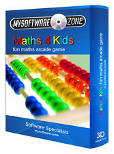 Maths 4 Kids - Fun Educational Learning Arcade PC Game Software for Children