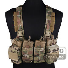 Emerson Tactical Combat Rapid Assault Chest Rig Vest Harness w/ Magazine Pouches