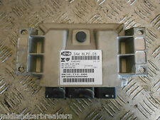 PEUGEOT 206 2002 QUICKSILVER 1.4 16V ECU UNIT 9656304580