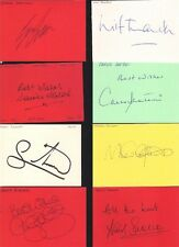 Signed card by MIKAEL SILVESTRE the MANCHESTER UNITED footballer