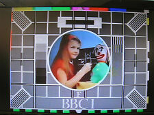 BBC 1 Test Card F DVD 60 mins approx music picture excellent quality