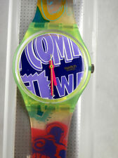 Swatch Gents Robin Mint in Box with Papers