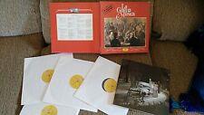 DE ROSSINI A WAGNER CAJA BOX 4 LP + LIBRO LA GRAN MUSICA DEUTSCHE GRAMMOPHON