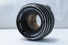 【AS IS】 Olympus OM-System F.Zuiko Auto-S 50mm F1.8 MF Lens From Japan #356558