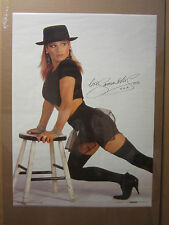 Samantha Fox Hot Girl  vintage Oginal Poster 1988 1010