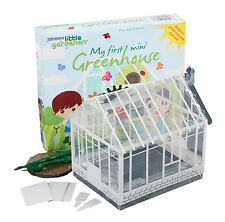 Johnsons Little Gardeners My First Mini Greenhouse - Growing kit for kids