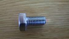 M10 x 20 Hex Head Bolt Set Screws Stainless Steel A4 Pack Of 10