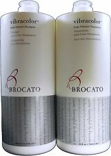 Brocato Vibracolor Fade Prevent Shampoo and Treatment 32oz Duo