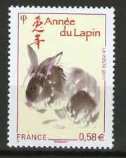 TIMBRE 4531 NEUF XX LUXE -ANNEE LUNAIRE CHINOISE DU LAPIN