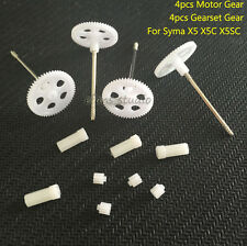 Main Gear wheel + 9T Small Gear for Syma X5 X5C X5SC RC Drone Quadcopter Parts